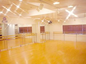 豊洲ヨガ・ピラティス教室のスタジオ風景